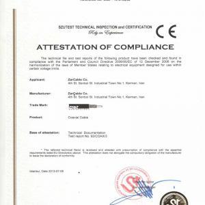 Coaxial CE Standard