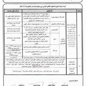 Ahvaz Confirmation